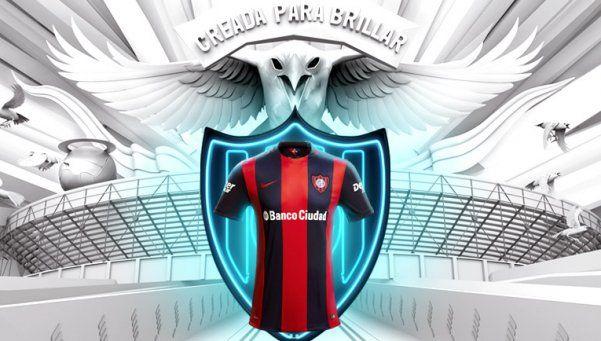 San Lorenzo está de estreno y presentó la camiseta nueva