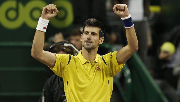 Djokovic vapuleó a Nadal y se consagró campeón en Doha