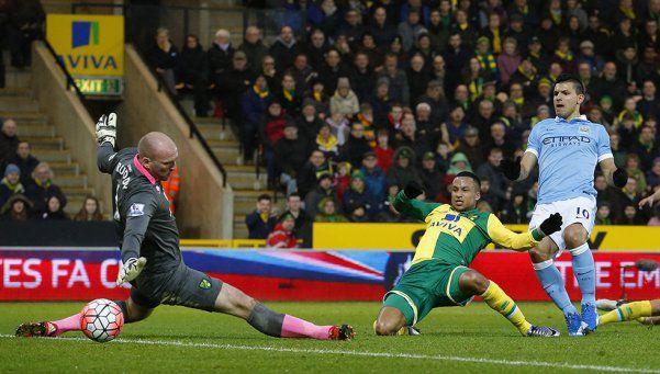 El City goleó a Norwich en su debut en la FA Cup