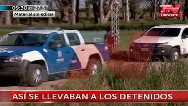 Video | Así trasladaban a Víctor Schillaci y Christian Lanatta