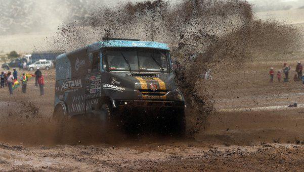 Dakar: protesta de guardaparques demoró el inicio de la jornada