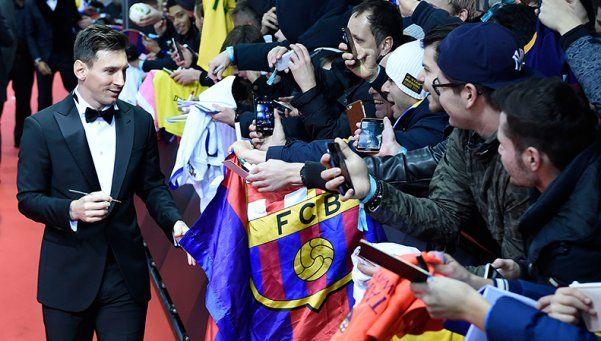 ¡Hacé lugar, Lío! Messi ganó su quinto Balón de Oro