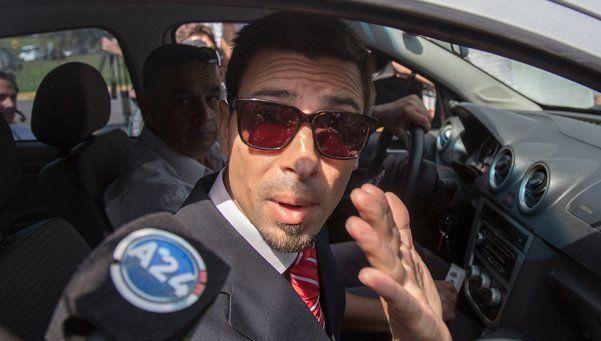 Martín Lanatta se negó a declarar ante el fiscal