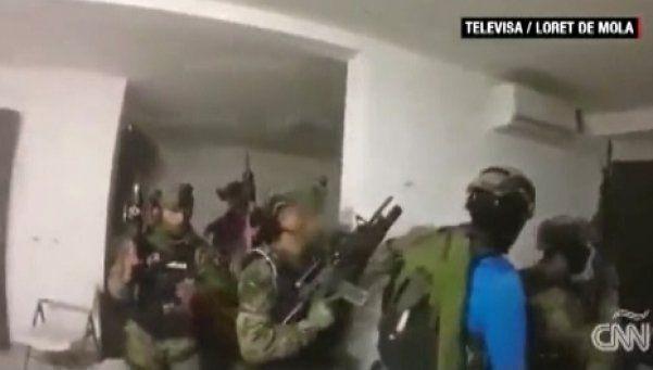 Video | El operativo que llevó a la captura del Chapo