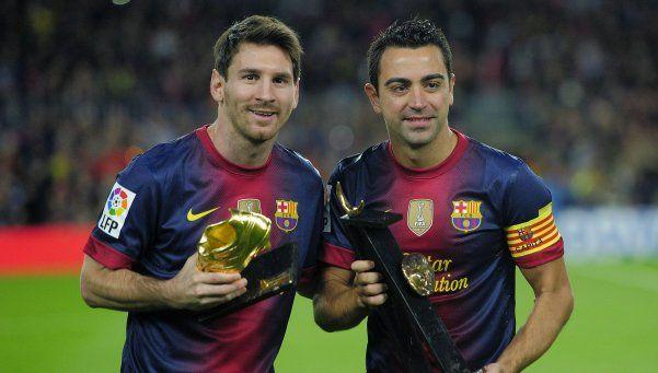 """La carta de Xavi a Messi: """"No volveremos a ver nada parecido"""""""