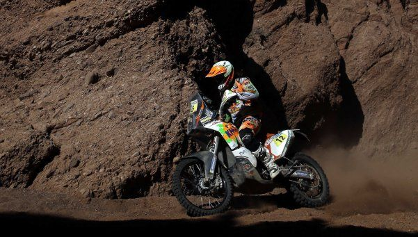 Dakar: Benavides volvió al podio y escaló un puesto en la general