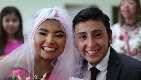 Tras cumplir su sueño de casarse, falleció Cesia
