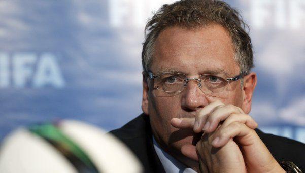 Echaron de la FIFA a Valcke, mano derecha de Blatter