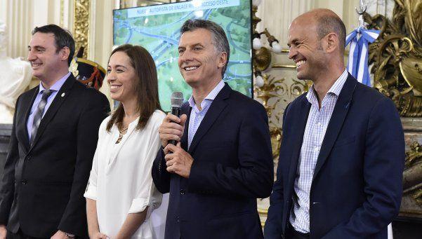 Con críticas al kirchnerismo, Macri anunció obras en Ruta 5