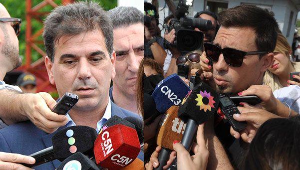 El fiscal lo niega, pero Ritondo habló de llamados entre prófugos y policías