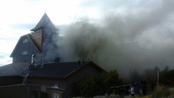 Controlaron el incendio en el hotel de la familia Kirchner