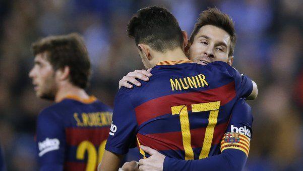 Barcelona derrotó a Espanyol y avanzó de ronda