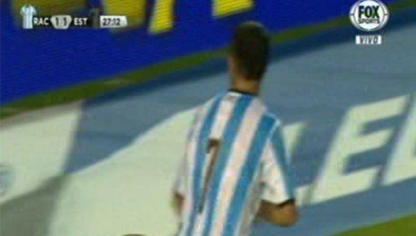 ¿Pereyra se burló de los hinchas de Estudiantes tras su gol?