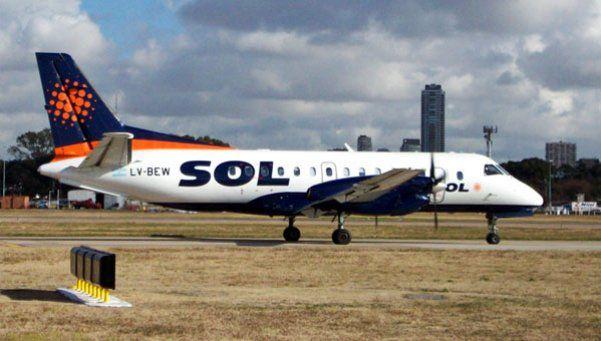 La aerolínea Sol oficializó el cierre de la empresa