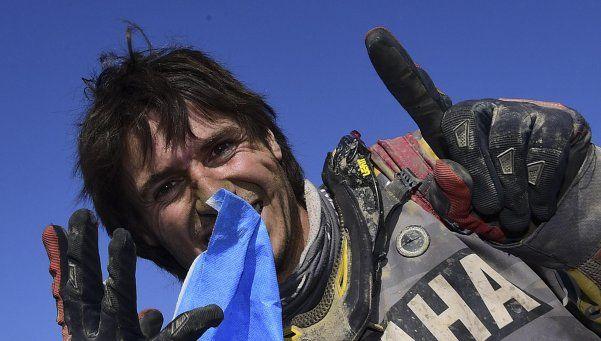 Marcos Patronelli alzó su tercer título en el Dakar