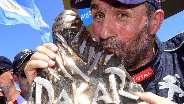 El señor del Dakar Peterhansel consiguió su sexto título en Autos