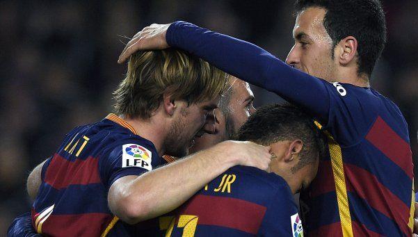 Barcelona humilló al Bilbao en el primero de la trilogía