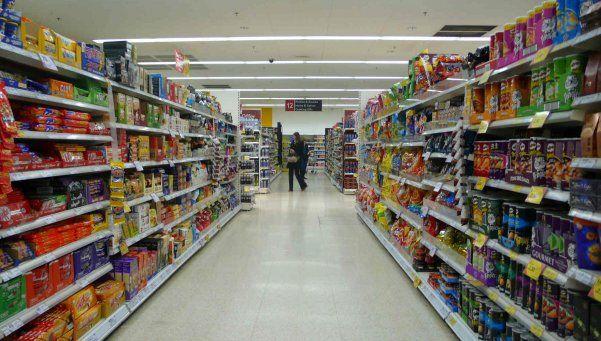 Cayó 10,7% consumo en supermercados del centro del país