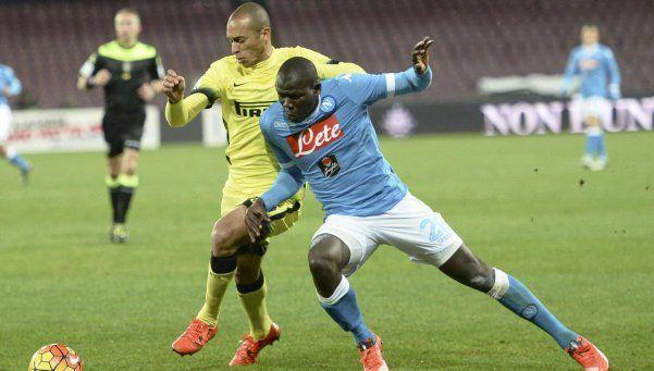 Copa Italia: Inter eliminó a Napoli y avanzó a semifinales