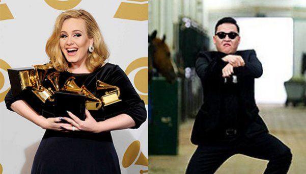 """""""Hello"""" de Adele superó a """"Gangnam Style"""""""