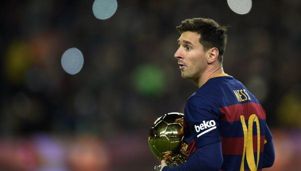Messi fue elegido como embajador de la ONU