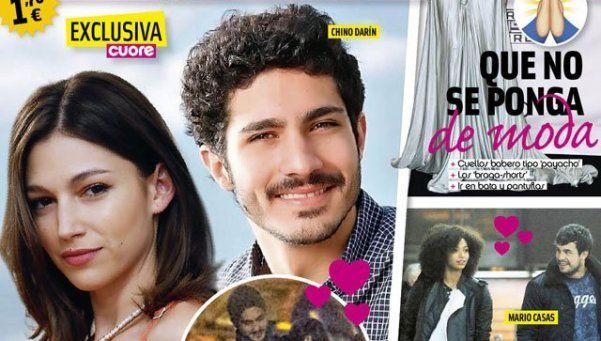 El Chino Darín, de novio con la actriz española Úrsula Corberó