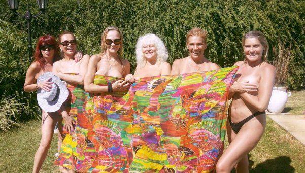 Veteranas vedettes argentinas, desnudas como en los 80