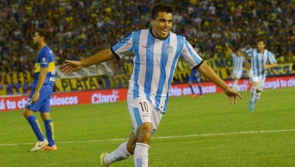 Marcos Acuña, descartado para jugar ante Boca