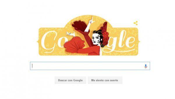 Google celebra los 93 años del nacimiento de Lola Flores