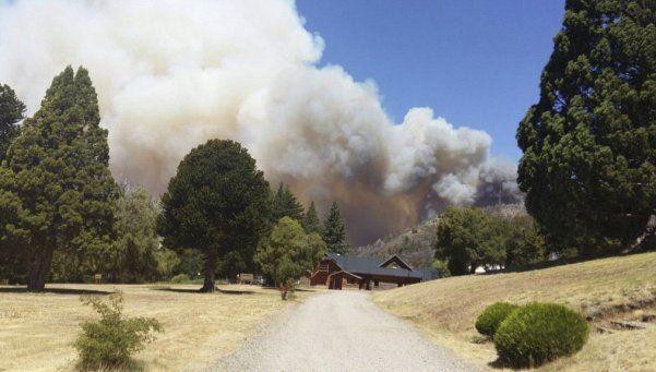 Incendio en el Parque Nacional Los Alerces en Chubut