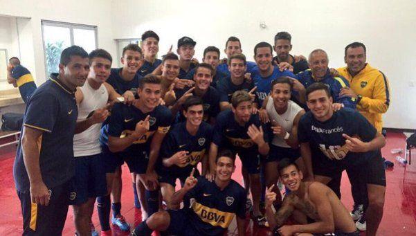 Copa Chivas: los pibes de Boca se quedaron con el Superclásico