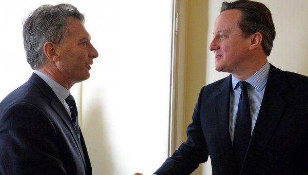 Kelpers, satisfechos tras la reunión de Cameron con Macri