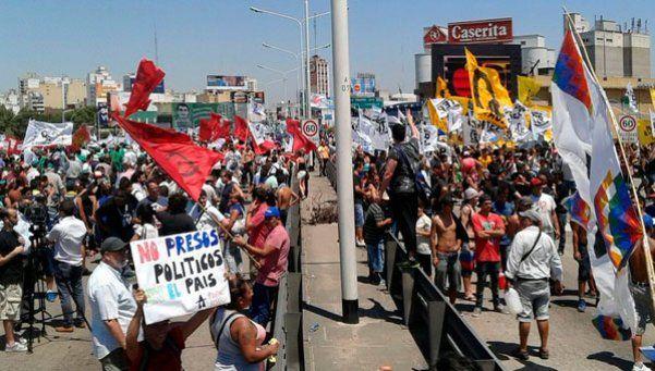 El país, paralizado: los cortes por la liberación de Milagro Sala