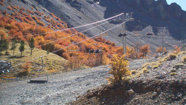 Verano en Esquel en el Cerro La Hoya