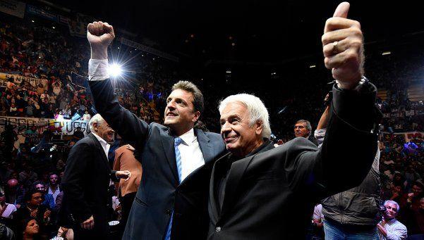 Massa: De la Sota es el más preparado para liderar al peronismo