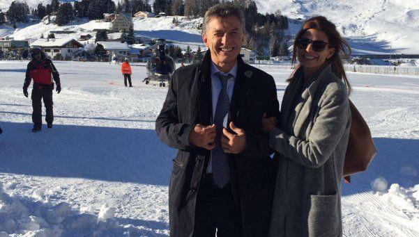 Macri: El viaje a Davos fue muy positivo