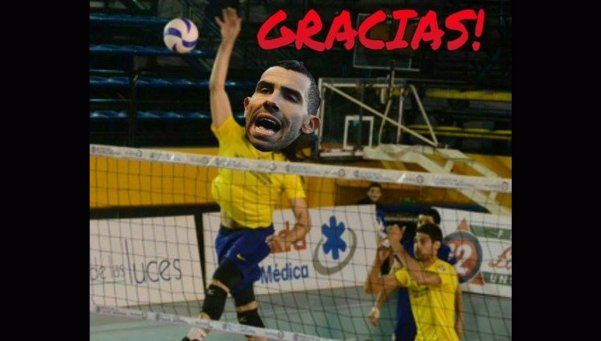 Los memes del Superclásico: Osvaldo y Tevez, los blancos