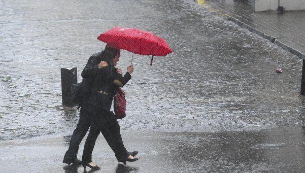 Alerta meteorológico por fuertes chaparrones y tormentas