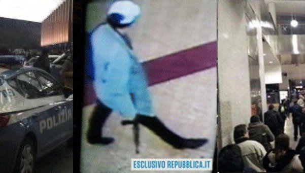 Pánico en Roma por un hombre armado en la estación de tren