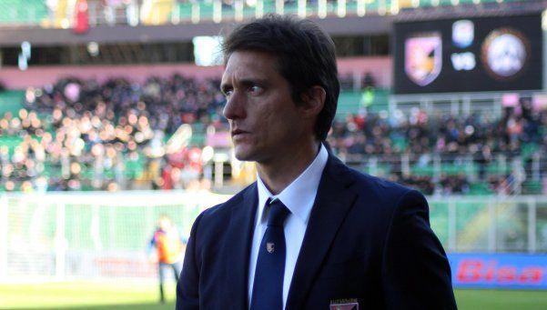 Guillermo no podrá dirigir al Palermo hasta junio