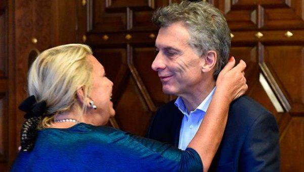 Macri recibió a Carrió en la Casa Rosada