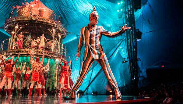 El Camarín del Teatro: Cirque Du Soleil