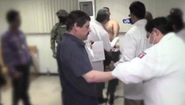 Difunden nuevas imágenes de la recaptura de El chapo Guzmán