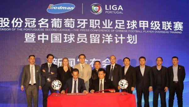 Un chino y diez más: los patrocinadores asiáticos cruzan el límite