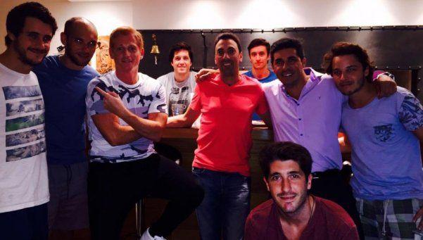 Liberman se reencontró con el uruguayo que lo trató de mufa
