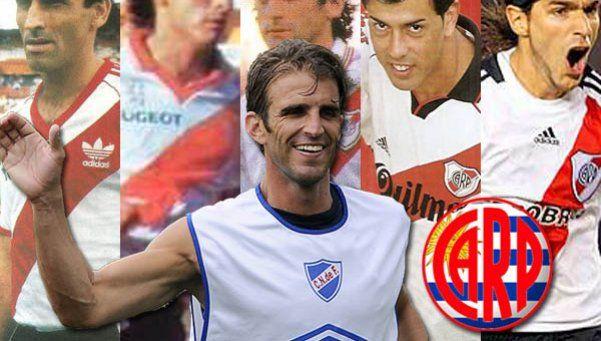 Llega Alonso: 5 delanteros uruguayos que jugaron en River