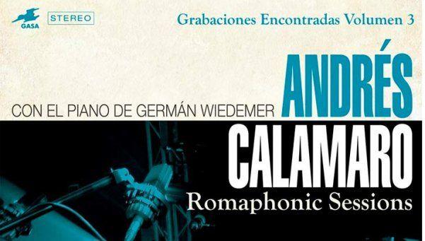 """Calamaro vuelve con """"Grabaciones Encontradas 3"""""""