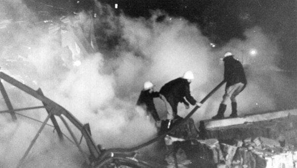 Canal 13 se incendió hace 36 años y también afectó a Mirtha