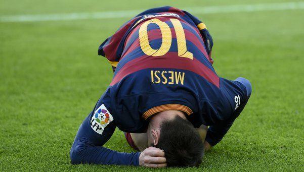 Messi va al quirófano para solucionar sus problemas renales