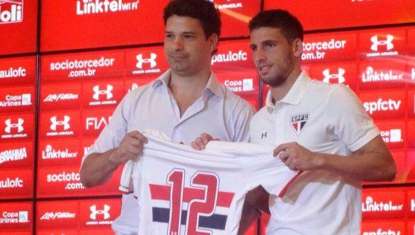 """""""En honor a Boca"""", Calleri usará en San Pablo la camiseta 12"""